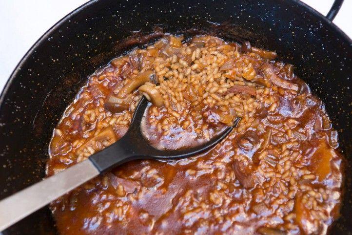 arroz pato y setas-Casa Babel