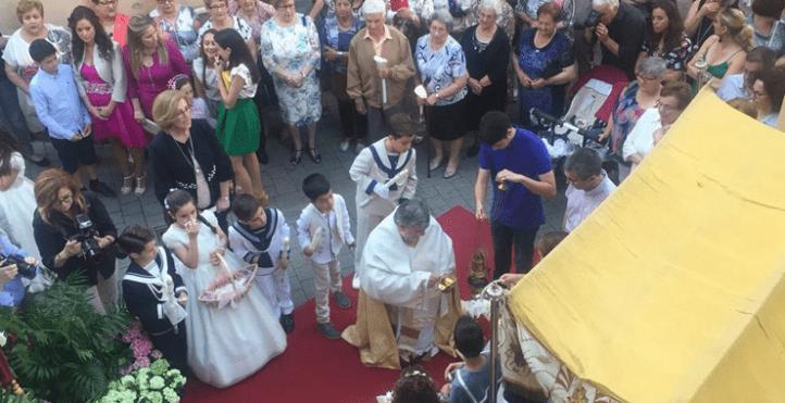 Villalonga repite la más bella tradición del Corpus Christi