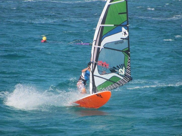 Windsurf deportes en Gandía